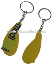 promotional 2D/3D custom soft pvc key chain