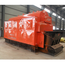 Solid Fuel Rice Husk Peanut Shell Sawdust Fired Biomass Steam Boiler