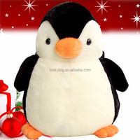 Hot sale plush talking lighting penguins toys