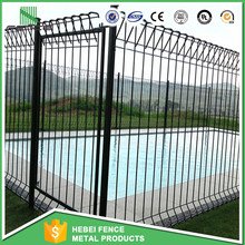 BRC Weld Mesh Panel Fence / Roll Top Swimming Pool Fence