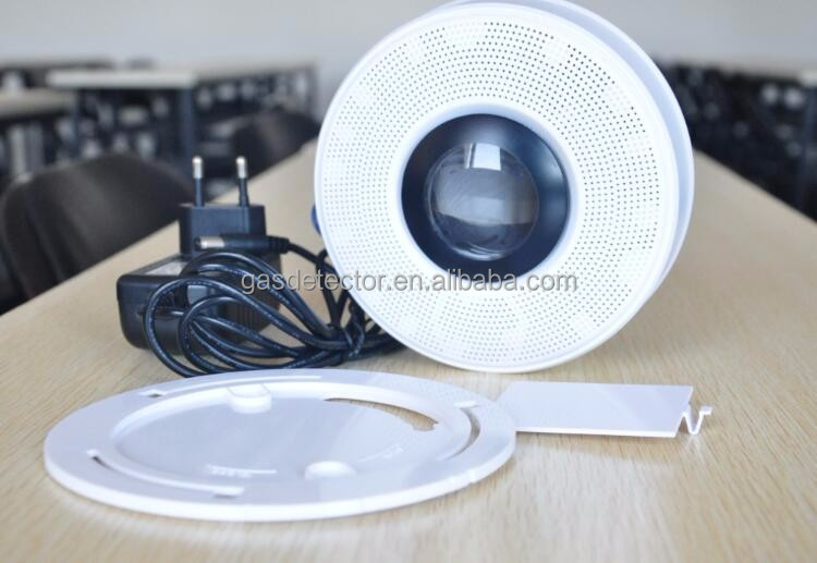 Ceiling type gsm smart smoke detector alarm with voice reminder function