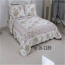 Modern style different types durable use vintage sari patchwork quilt