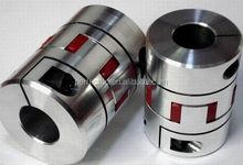 Flexible shaft jaw coupling