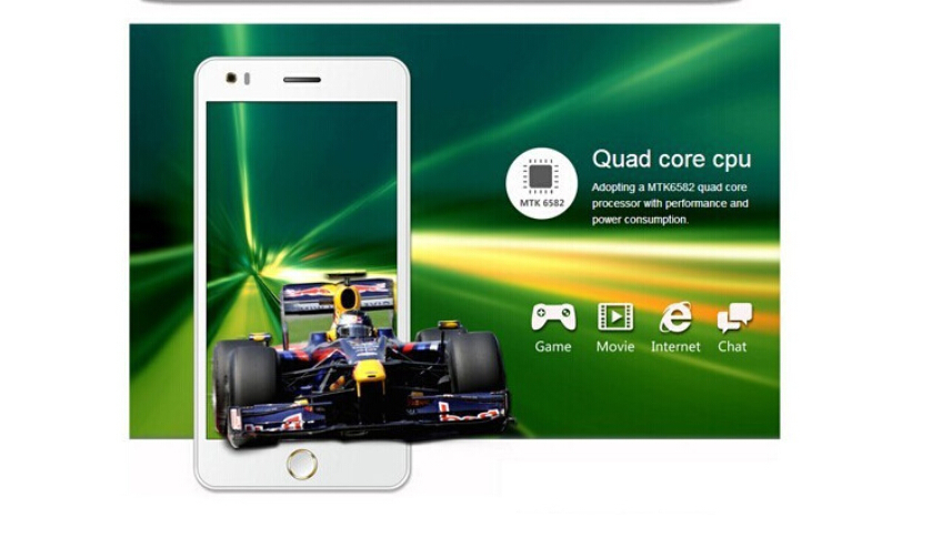 Elephone P6i quad Core Android 4.4 Mobile Cell Phone in stock