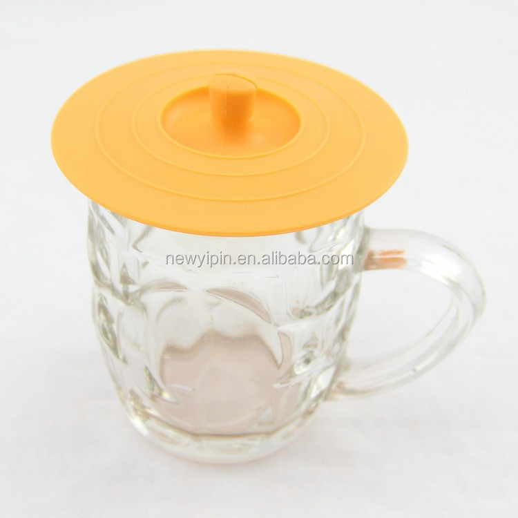 Coffee tea mug cup silicone cup cover/cup lid/silicone bowl cover