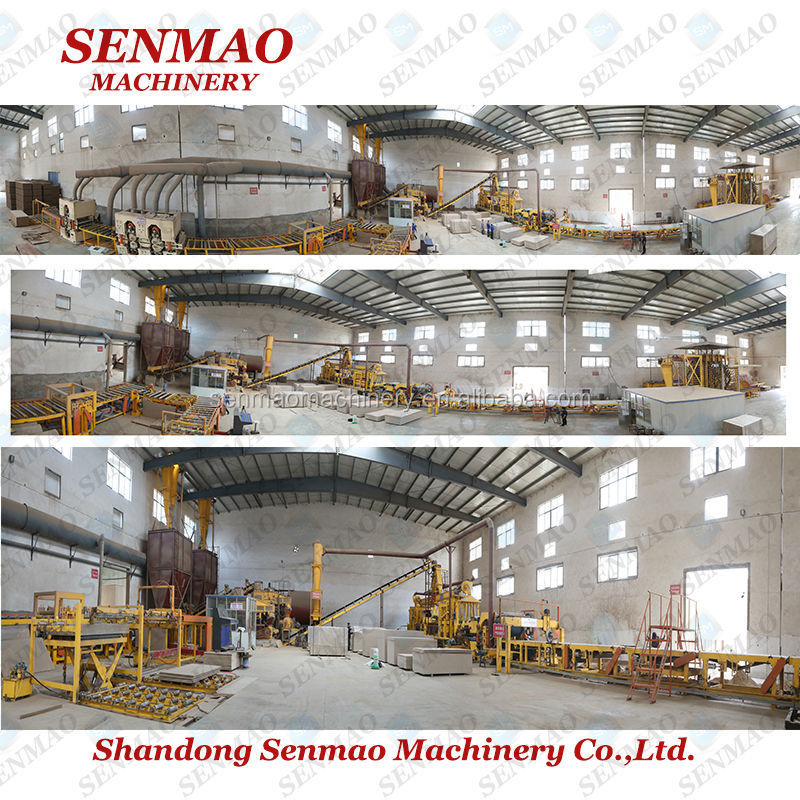 large capacity plaster board production line/chipboard production line