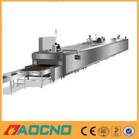 tunnel oven bakery equipment for baking biscuits, cake, bread, pizza and various other products made in China