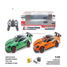 1:10 Scale 4 Channel Remote Control Racing Car with 4 functions