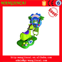 coin operated kiddie ride amusement machines flower donkey swing car electronic equipment game machine