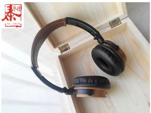 New Design High End High Fashion Wooden High Quality Stereo Headphones