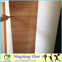 4mm vinyl flooring wood roll for dance room price