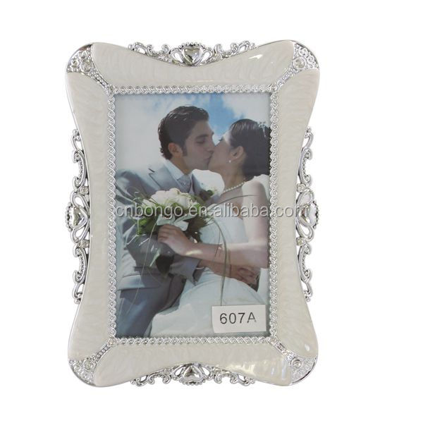 Europe vintage photo frame family / wedding / sexy photo frame white abs plastic photo frame