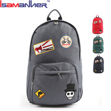 High quality skull school backpack wholesale custom latest boys bags for school