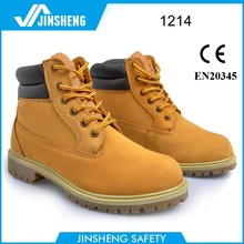 First layer leather nubuck rubber Goodyear welted Steel toe safety boots