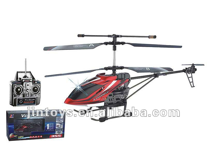 most durable wireless control 3.5ch rc helicopter with camera and gyro