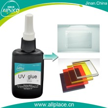 Safety liquid transparent acrylic board uv cured adhesive glue supplier