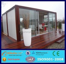 prefabricated ready made container house luxury log house for sale