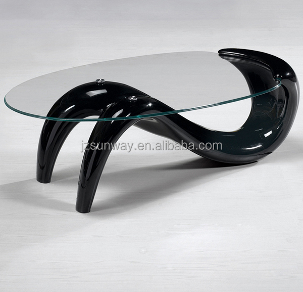 Novel design Living room furniture coffee table fish tank for sale
