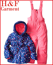 Cheap Child clothes Two-peice Set include Coat and Overall