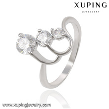 13817 Xuping ring children costume ring pave stones charm jewelery latest design