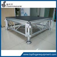 china wholesale websites aluminum portable stage with stage risers