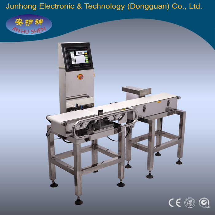 Fruit grading machine by weight checking/ check weigher machine