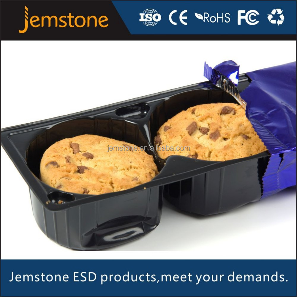 High quality environment friendly disposable palstic cookie tray