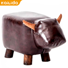 Quality kids elephant chair wood for children outdoor