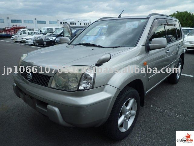 2002 Used Cars NISSAN X-TRAIL 4 NT30