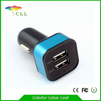 Portable Mini Car Charger output 5v 2.1a car mobile charger for Cell Phone