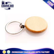 Promotion Personalized Wooden Round Shape Keyring for Book Bag Name Gift(free Engraving)