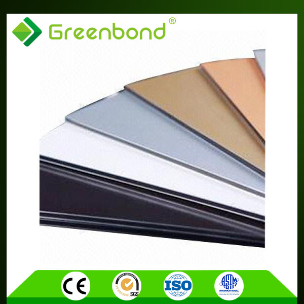 Greenbond protective film for golden mirror aluminum composite panel acp sheet
