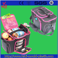 2015 High Quality 3 meal insulated cooler bag