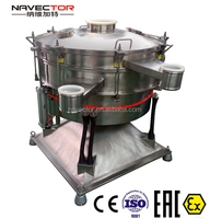 ISO, CE, EX, EAC certified hydrochloric acid tumbler screening machine NRS series
