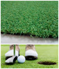15mm thick golf putting green carpet synthetic grass turf