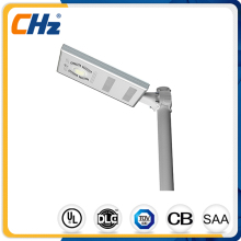 High efficiency Simple Integrated 20W 30W easy to install solar LED street light With CE RoHS