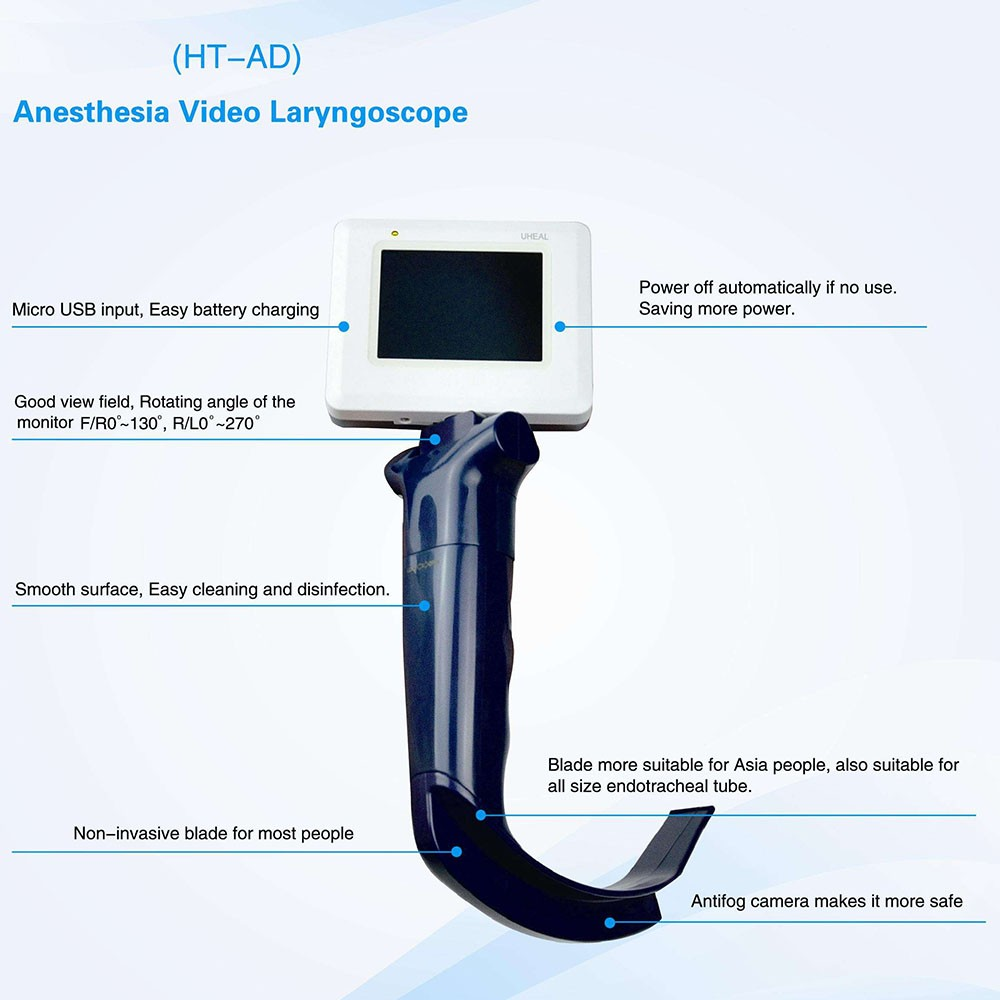 Cheap Video Laryngoscope resued blade FDA approved