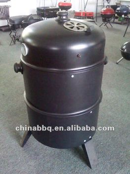 smoker steam charcoal grill