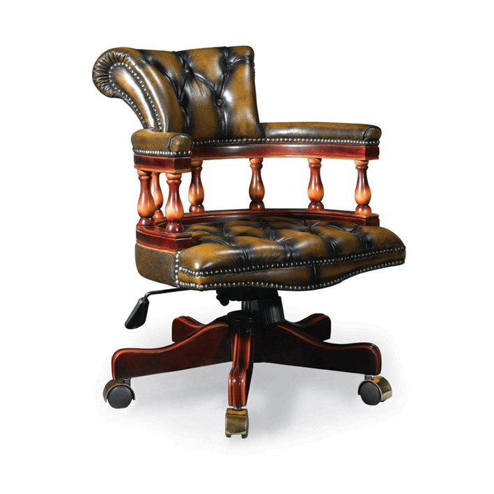 Leather Executive Office Chair, President CEO Chair