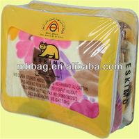 first class pvc pipe handle pillow plastic bags for brand