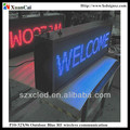Outdoor P10-32x96 monochrome RF wireless communication outdoor led display