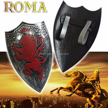 Plastic Roman warriors shield armor for kid cheap sword weapon