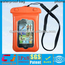 waterproof hard case for iphone 4s with ipx8 certificate