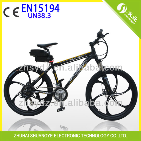 48V 500W, 48V 10AH cheap Chinese Shunagye electric motorcycle