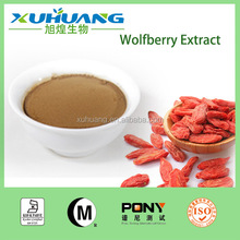 Quality Guarantee Factory Supply Goji Berry Fruit Powder/ Wolfberry Fruit Powder 40%