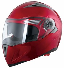 Chinese novelty dual shield modular flip up motorcycle helmet