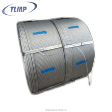 1*7 12.7mm high tensile strength galvanized steel strand wire