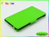 Hard Protect PU leathe Case for google nexus 7 case 2nd case Sample free
