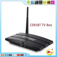 CS918t Full 1080P HD KODI Media Player youtube iptv android 4.4 set top box