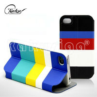 KAKU 2014 summer hot sell mobile flip cover case for iphone 5s